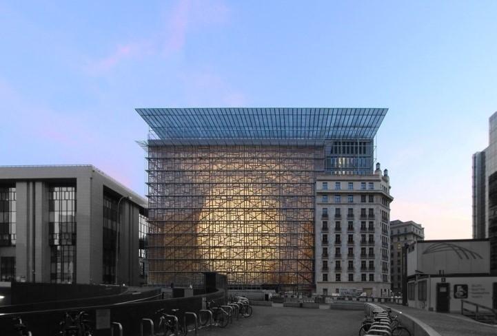 Europa-Gebäude, Samyandpartners CC BY-SA 4.0