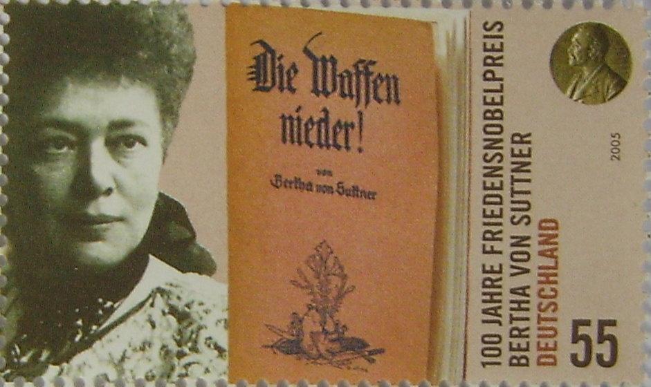 Bertha_von_Suttner,_Briefmarke,_Deutschland_2005, Anima, Public Domain, Wikim..jpg