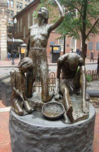 Denkmal in Boston für das große Leid, das die Iren in den USA erdulden mußten,.JPG