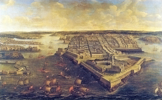 GrandHarbourValletta1801, unknown, scan by Sir Gawain, Public Domain.jpg