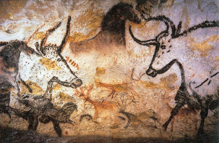 Lascaux animal painting, Prof saxx, Public Domain.jpg