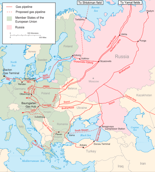 Major_russian_gas_pipelines_to_europe, Samuel Bailey, CC BY 3.0.png